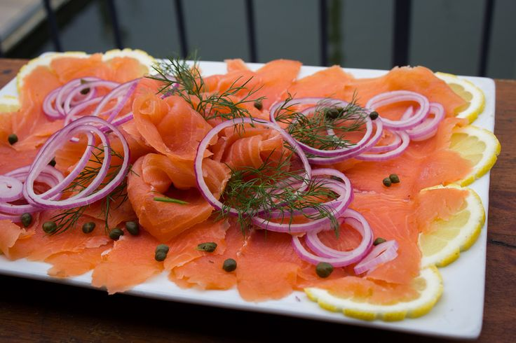 smoked salmon platter - Yahoo Image Search Results
