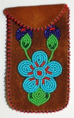 Moosehide iPhoneCase Made by Marilyn Camsell from Behchokö, NT