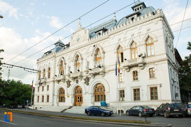 Palatul Administrativ (1904-1905), azi Prefectura Județului Galați, Strada Domnească 56, Galați; arhitect Ion Mincu