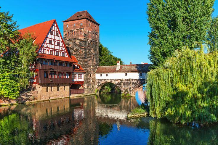 #Puente en #Nuremberg #Alemania