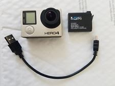 MINT GoPro HERO 4 BLACK ACTION CAMERA CAMCORDER #goprocamera