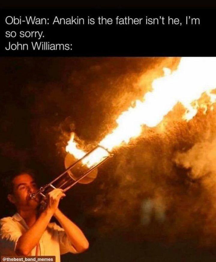 John Williams Star Wars Humor Band Jokes Star Wars Memes