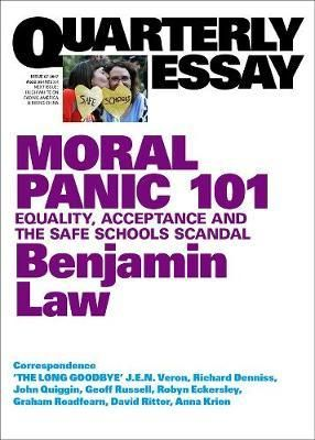 Benjamin Law on Sexuality, Schools and the Media; QE67 QE67 (Working Title)