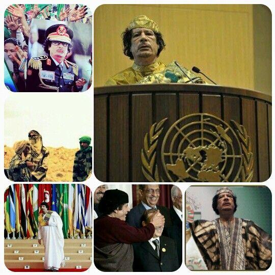 معمر القذافي.. في الصميم