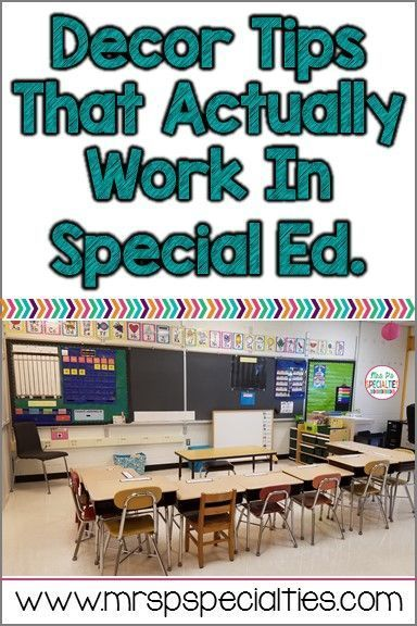 Classroom Decor Hacks : Best images about special education classroom
