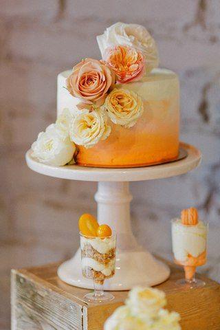Sasha +Katya | Orange Chevron Wedding | #julyevent #flowerslovers