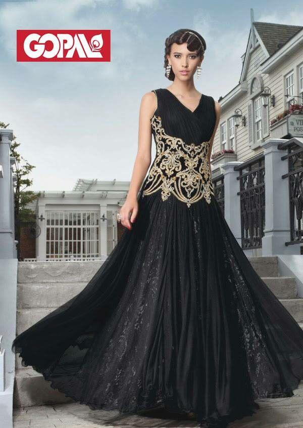 Gopal Emporium's Exclusive Rapunzel Range in Evening gown.  #LadiesWear #EveningGown #OnlyGopal