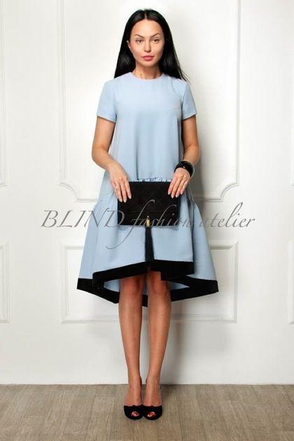Купить или заказать Платье из крепа 00032 в интернет-магазине на Ярмарке Мастеров. Поклонницы BLIND знают, что платье из итальянского крепа с отделкой из французского бархата - безоговорочный must-have. Осталось выбрать цвет. Или заказать сразу все.…