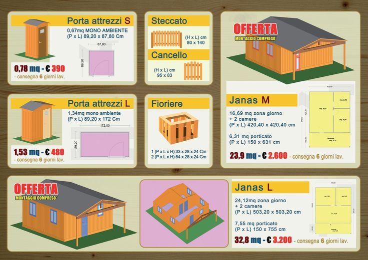 ATmarineDesign - Capanni per attrezzi, Steccati, Fioriere e Case da giardino.