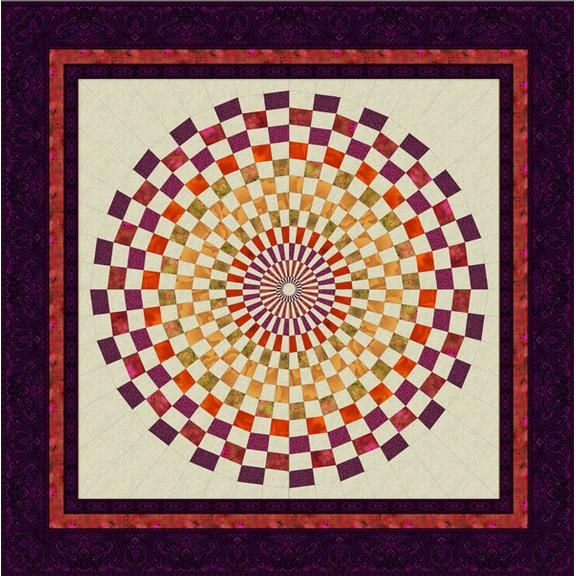 1000 Images About Quilted Spiral And Vortex Quilts On