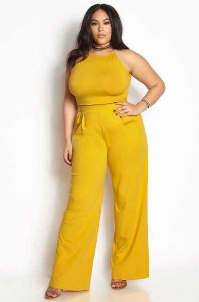 50e56c6a6c3 FINAL SALE- NO REFUNDS RETURNS Set By Rebdolls 95% Cotton 5% Stretch  Pleated Pant High Neck Crop Top Imported Machine Wash Fabric Weight  Medium  (Learn ...