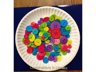 Pete the cat button activity ideas - counting, sorting, adding, subtracting