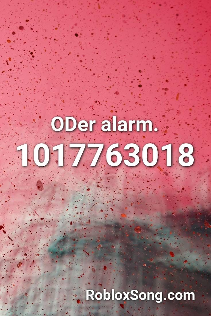 Oder Alarm Roblox Id Roblox Music Codes In 2020 Roblox Coding Songs