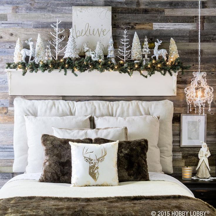 """Sophisticated glamour meets cozy-cabin charm in the delightful Aspen Cove collection. Which piece is on your wish list for #Christmas décor?"""