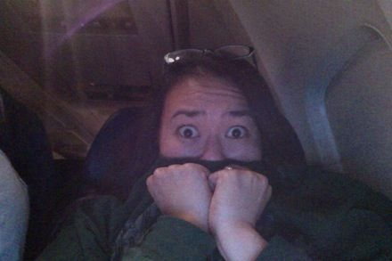 How a total germaphobe gets through an airplane flight by Louise Hung from xojane.... i laughed while cringing....she describes how i feel about airplanes...at least i'm not alone!