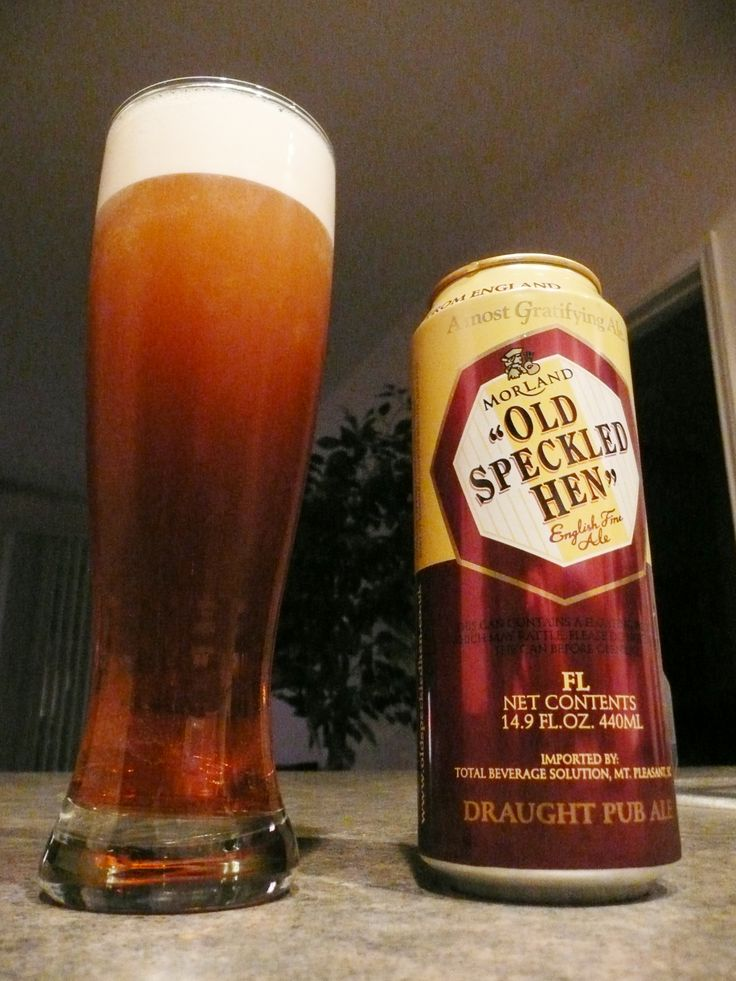 Old Speckled Hen - Perfect with fish and chips!