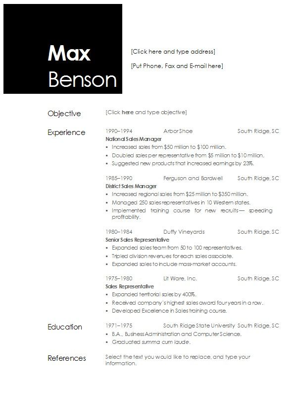 Suggested Font For Resume best font to use for resume resume - Suggested Font For Resume