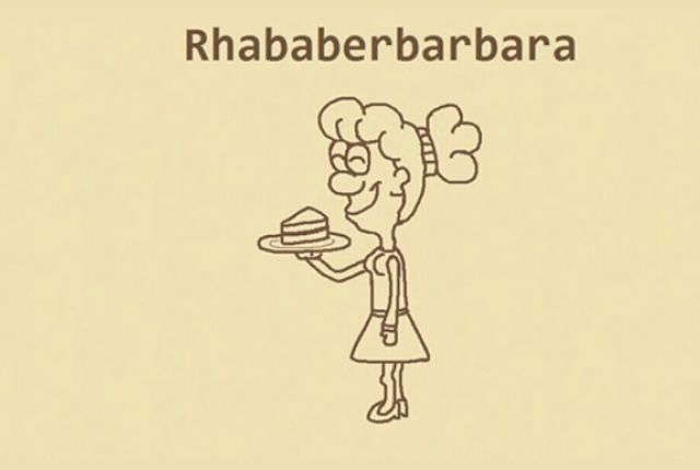 Rhababerbarbara - Here's How Crazy-Long German Words are Made | Mental Floss