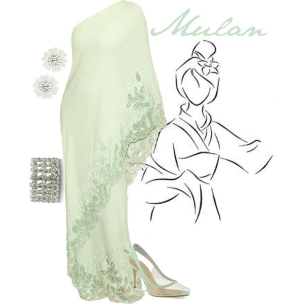"""""""Mulan"""" formal gown by alyssa-eatinger on Polyvore"""