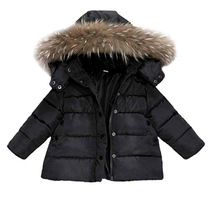 Forestime Baby Girls Boys Kids Down Jacket Coat Down Feather Winter Warm Children Clothes 0 12 Months Black Boy Outerwear Kids Coats Kids Outfits