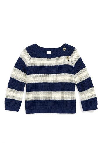 Nordstrom Baby Stripe Sweater (Baby Boys) available at #Nordstrom