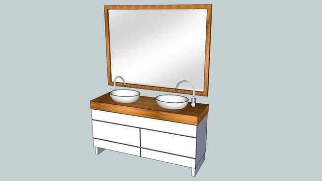 Bathroom wash-stand - 3D Warehouse