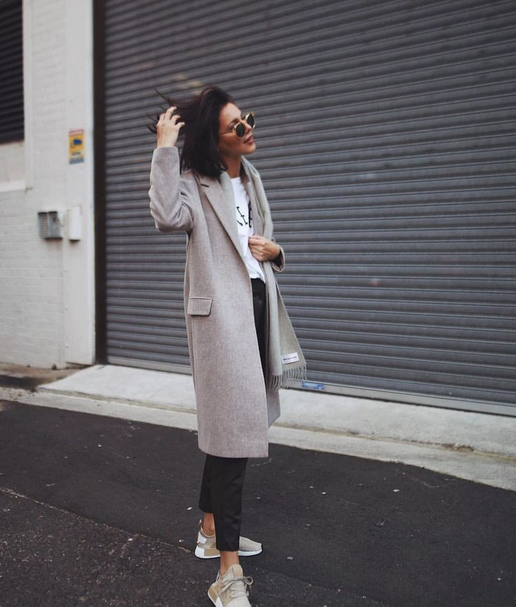 """6,250 Likes, 30 Comments - Petra (@pepamack) on Instagram: """"Coat by @allsaints ,shoes @adidasau ,sunnies are @raen  #topshop #adidas #ootd"""""""