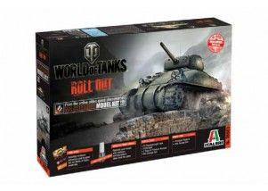 World of Tanks M4 SHERMAN scala 1:35