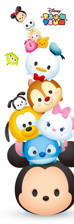 Disney Japan: Disney Tsum Tsum puzzle:)