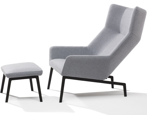 park lounge chair & ottoman
