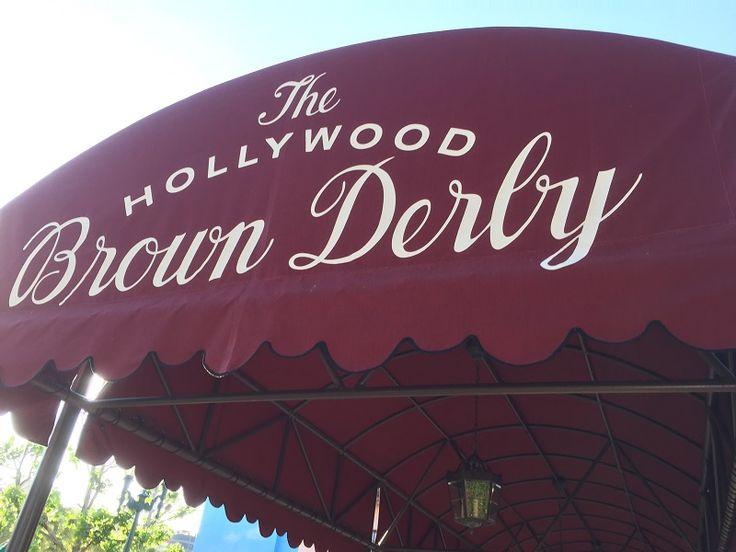 Roan dines at Disney's Hollywood Studio's Brown Derby Restaurant