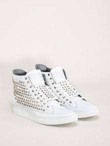 #giacomorelli studded sneakers