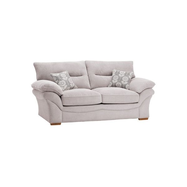 Dynasty Silver Fabric Sofas 2 Seater Sofa Bed Chloe Range Oak Furnitureland Sofa Bed 2 Seater Sofa Oak