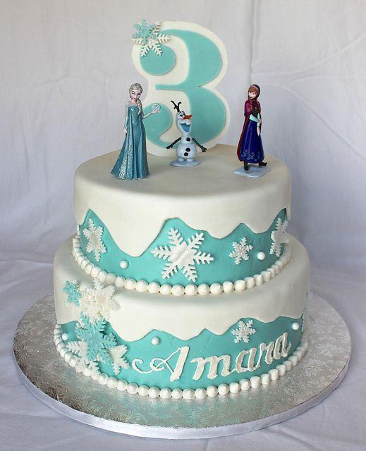 Frozen Cake | Cake Decorating | Great Cake Art