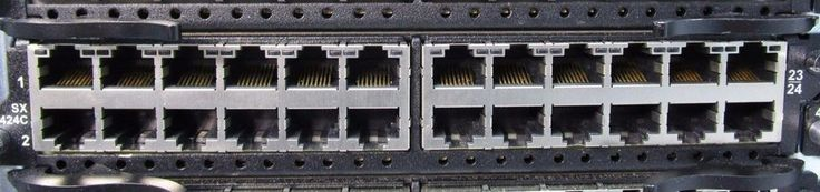 Brocade Foundry SX-424C 24x Gb Ethernet Port Switch Expansion Module for SuperX