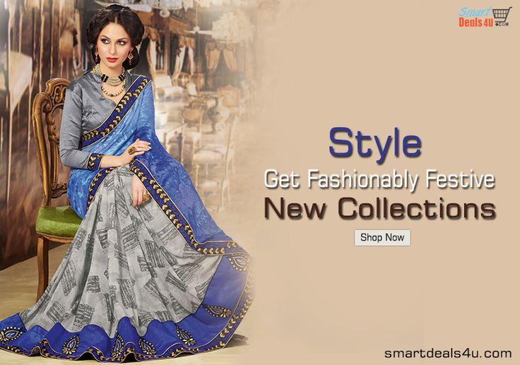 NEW COLLECTION Get Designer Saree at Great Price On Smartdeals4u.com Whats App :- 9953089027 For buy click here :- Smartdeals4u.com