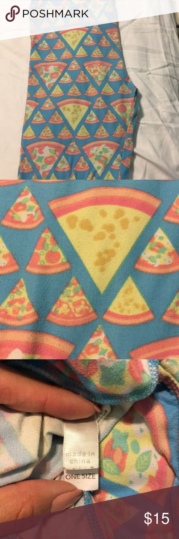 Lularoe pizza leggings pizza leggings LuLaRoe Pants Leggings
