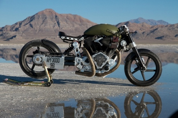 "Hellcat X132 ""Combat"" by Confederate Motorcycles"