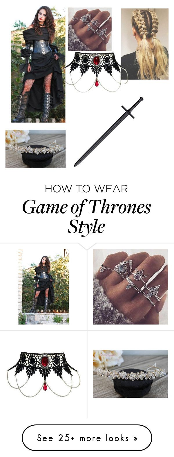 """""""Kuro in Dragonstone"""" by amarawest on Polyvore"""