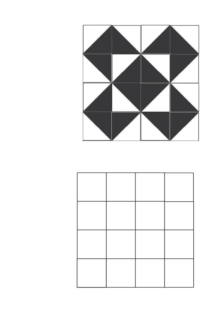 Lorsque j'étais à l'Ecole Normale (au siècle dernier...), je me souviens avoir fait un travail sur les carrés bicolores à partir des travaux faits par Robert Neyret de l'IREM de Grenoble pour la...