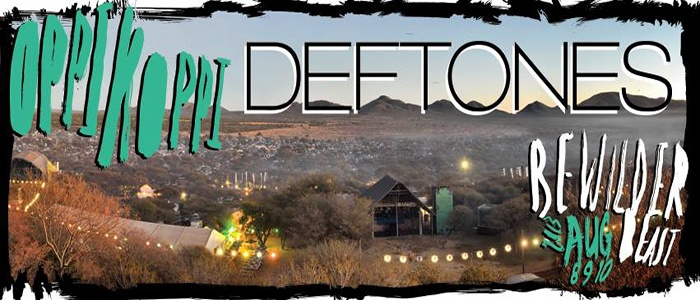 Please let me know whether or not you feel it's legible or simply Google: Deftones + Oppikoppi 2013