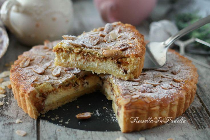 Torta Marilina, con crema mou e ricotta