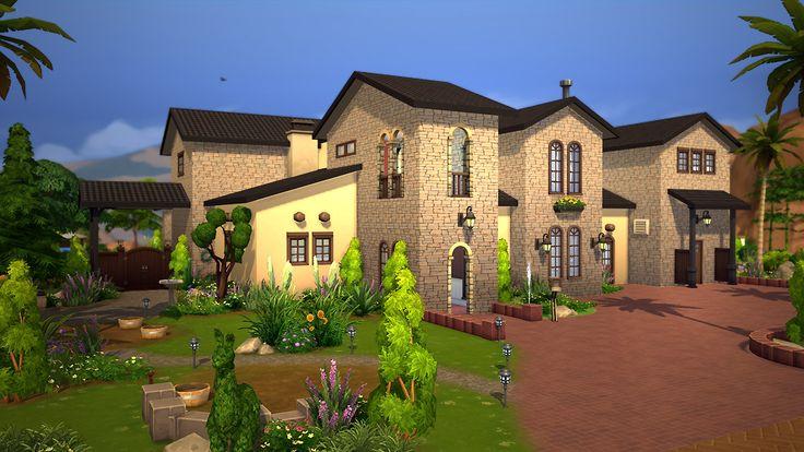 Les 37 meilleures images du tableau Sims 4 sur Pinterest - Plan Maison En Bois Gratuit