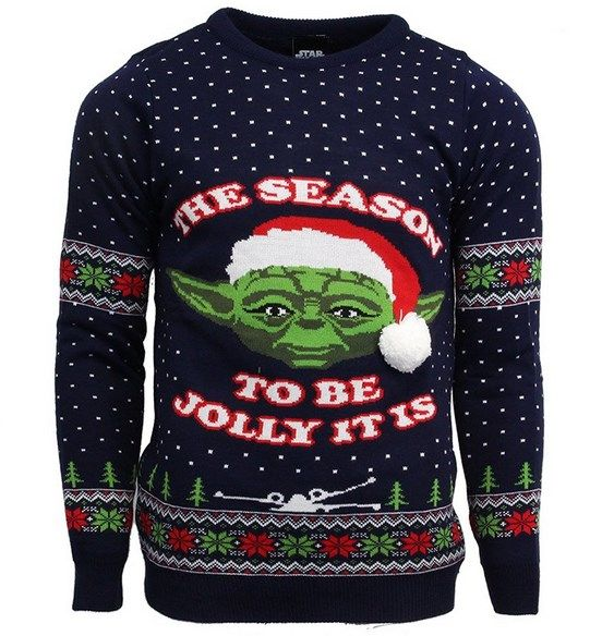 star wars xmas jumper
