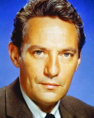 Peter Finch, British born Australian actor of film, stage and radio. (Elephant Walk with Elizabeth Taylor,1954. The Nun Story, with Audrey Hepburn, 1959. He made Network, 1976) These are only a few of his movies.