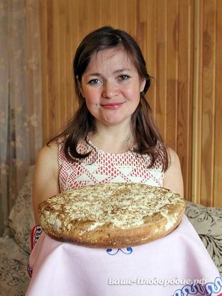 Рецепт приготовления Живого хлеба.