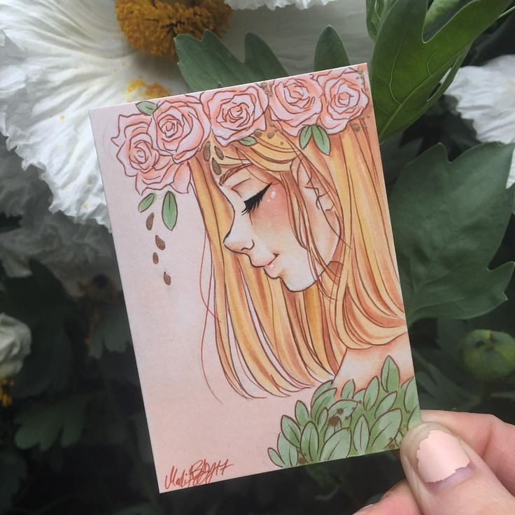 """Polubienia: 1,420, komentarze: 10 – Personal hopehokulani (@hope.hokulani) na Instagramie: """"""""Blush"""" It may be tiny, but this is the first drawing I've finished for myself in months. So yay…"""""""