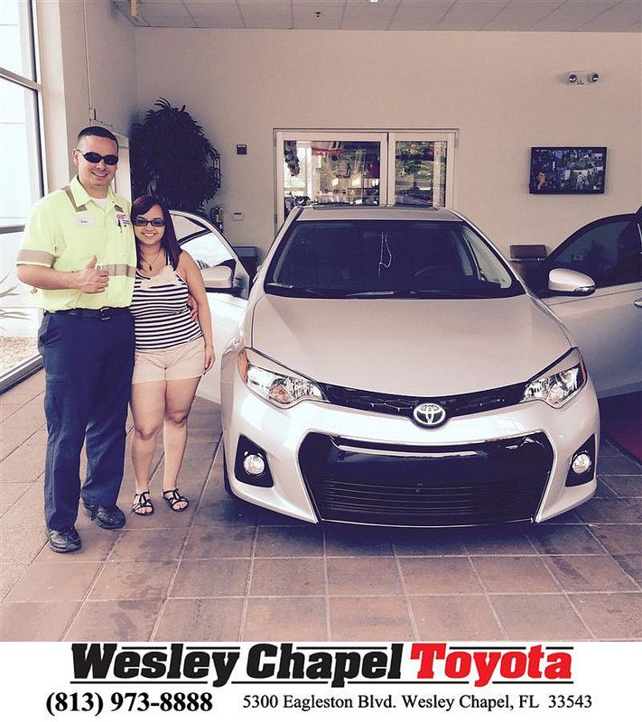 Wesley Chapel Toyota Customer Reviews Testimonials: Congratulations To Jose Morales On Your New Car Purchase