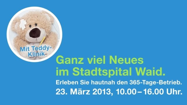 Waidspital Teddy-Klinik Radio 1 by Matter & Gretener. Interview mit Maurice Codourey, Leiter Kommunikation und Marketing