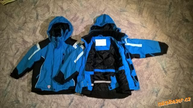 2x zimní bunda